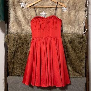 Guess Red Satin Dress